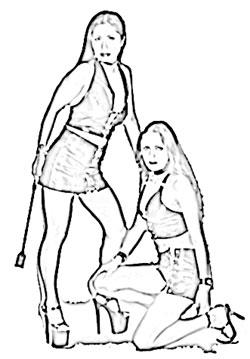 Mature stocking anal